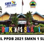 Pengumuman Hasil PPDB 2021 SMK Negeri 1 Slawi